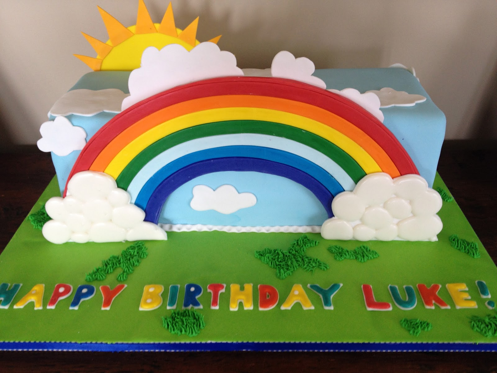 The Rainbow Cake Lisa S Project Vegan